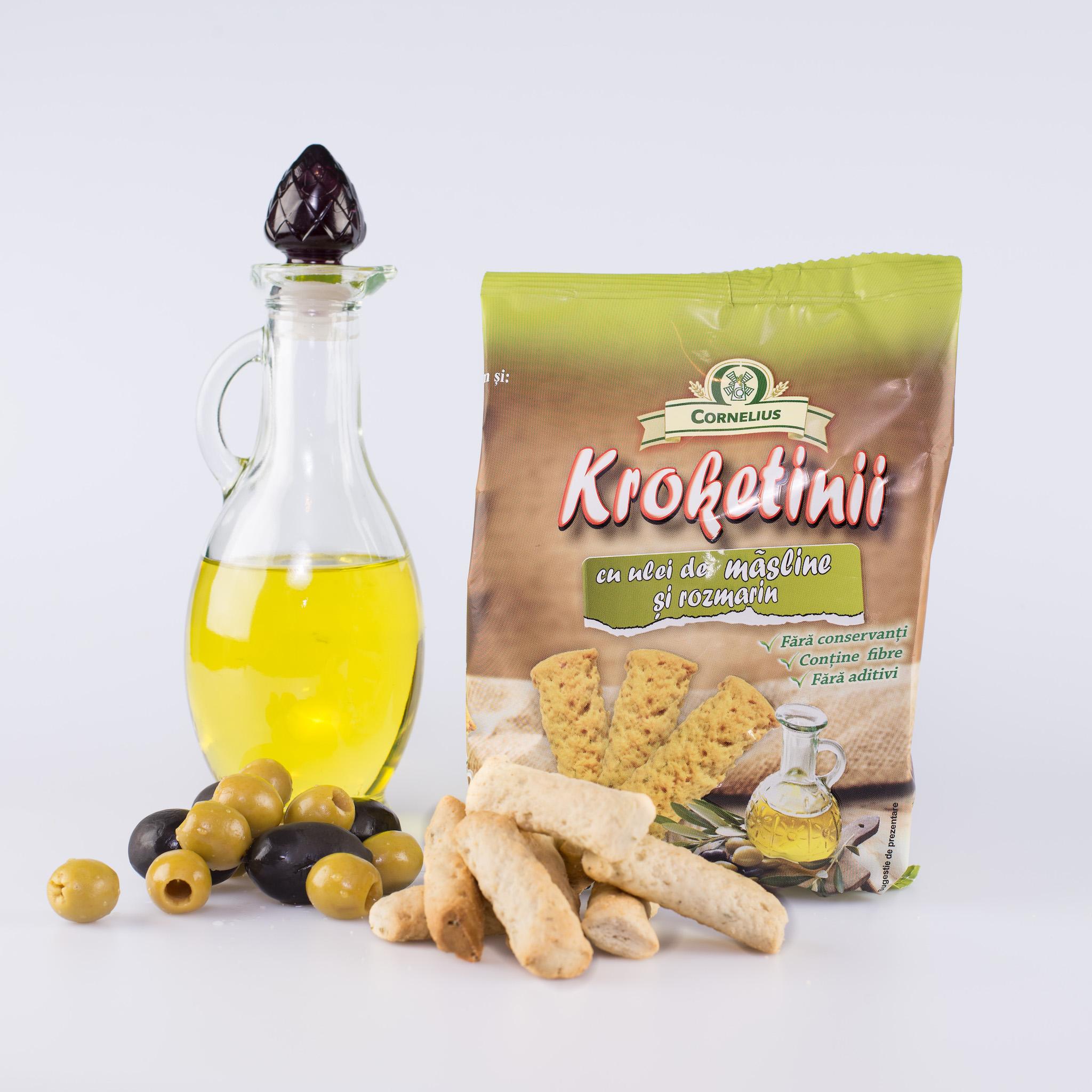 Kroketinii cu ulei de masline
