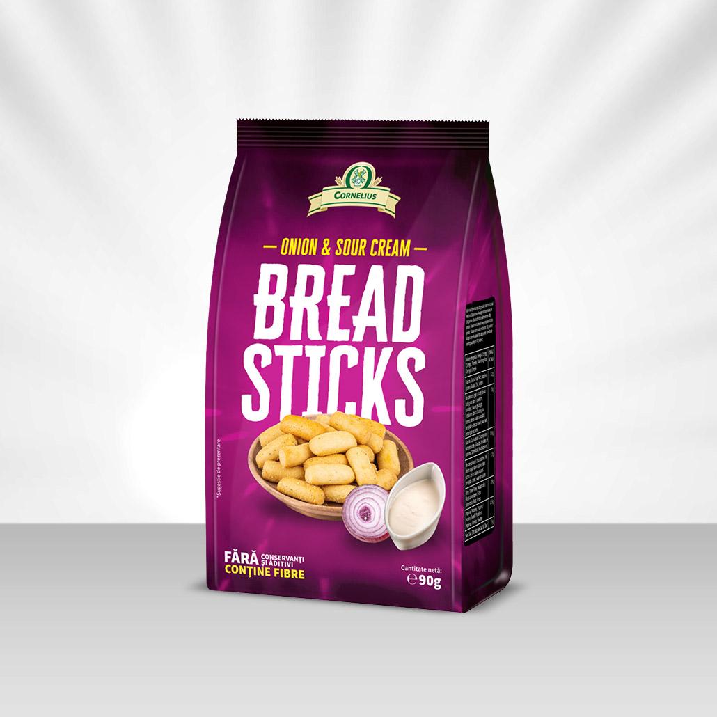 Bread Sticks Onion & Sour Cream (ceapă și smântână)