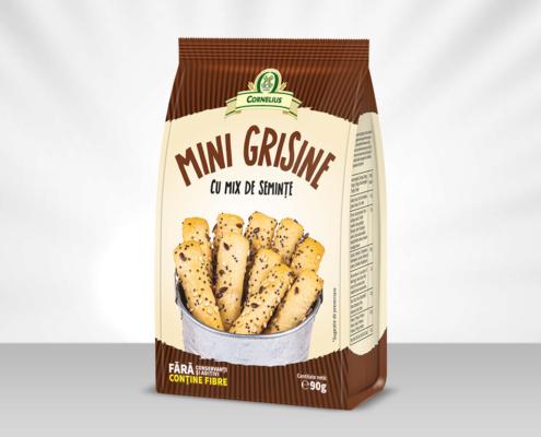 Mini Grisine cu mix de seminte